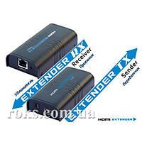 Приемник HDMI/DVI 120 м Lenkeng LKV373