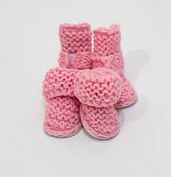 Угги шерстяные VipDoggy   размер 0 розовые