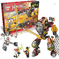 Конструктор Lepin серия NINJA/Ниндзя 06035, 478 деталей, развивающие игрушки, копия Лего lego