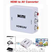 Конвертор HDMI в AV (ST-101), фото 1
