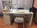 Маникюрный стол с вытяжкой и УФ лампой V115, фото 4