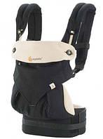 Эрго-рюкзак Four Position Ergobaby 360 Baby Carrier Black / Camel в коробке с инструкцией
