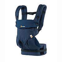 Эрго-рюкзак Four Position Ergobaby 360 Baby MIDNIGHT BLUE в коробке с инструкцией