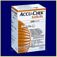 ACCU-Chek Softclix № 200 Акку-Чек Софткликс Простой и удобный прокалыватель для безболезненного самоконтроля