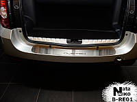 Накладка на задний бампер Renault Duster с -2010 г.