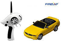 (+ПОДАРОК 3)  Автомодель р/у 1:28 Firelap IW02M-A Ford Mustang 2WD (желтый)