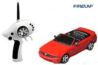 (+ПОДАРОК 3)  Автомодель р/у 1:28 Firelap IW02M-A Ford Mustang 2WD (красный)