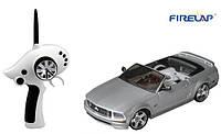 (+ПОДАРОК 3)  Автомодель р/у 1:28 Firelap IW02M-A Ford Mustang 2WD (серый)
