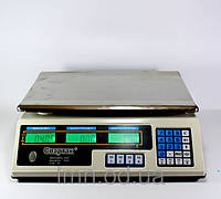Торговые весы c аккумулятором на 6V ACS 50kg/5g 218, настольные весы