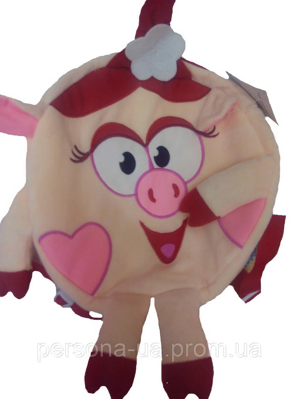 Рюкзак игрушка нюша смешарики рюкзак grizzly young rs-430-3 цена