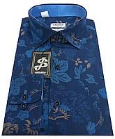 Рубашка мужская c принтом  № S 81.1 RC, фото 1