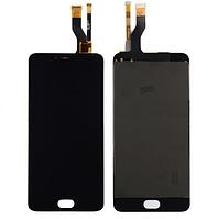 Оригинальный дисплей (модуль) + тачскрин (сенсор) для Meizu M3 Note | M681H (черный цвет)