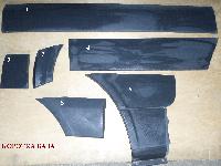 Молдинг двери стойки арки крыла (короткая база) на Мерседес Спринтер W906