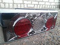Диодные задние фонари на ВАЗ 2109 Олимпиада №2 (хром)