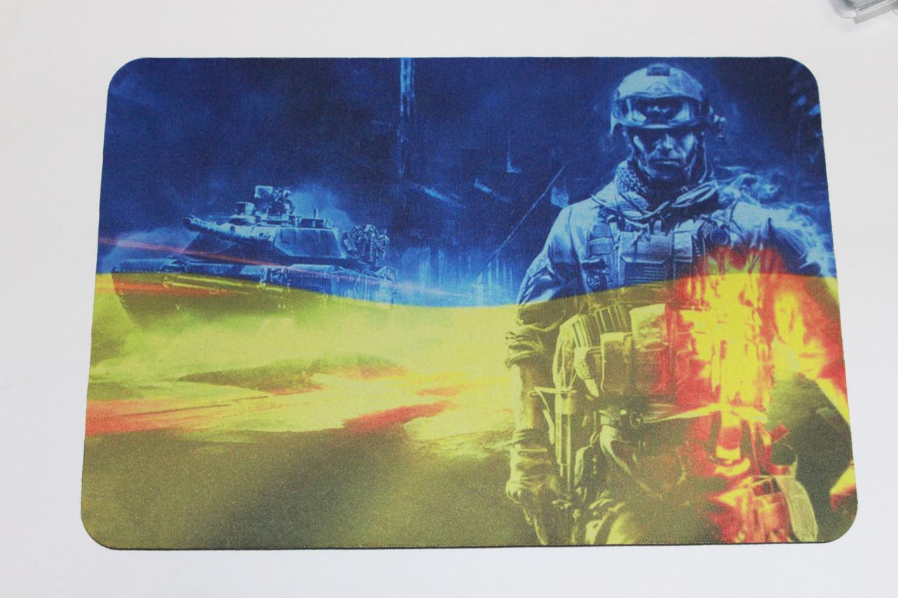 Коврик для мышки Украина Солдат