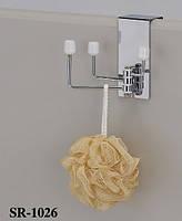 Подвесная раскладная вешалка в ванную SR-1026, Дверные крючки для одежды