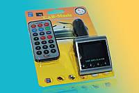 FM-модулятор MicroSD+USB+пульт 816B