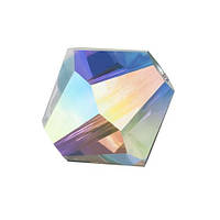 Хрустальные биконусы Preciosa (Чехия) 3 мм Crystal AB