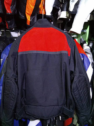 Мотокуртка бу текстиль  188, фото 2