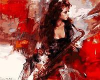 Картина по номерам Mariposa Музыка страсти Худ Иван Славинский (MR-Q905) 40 х 50 см