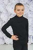 Стильный детский  джемпер черный