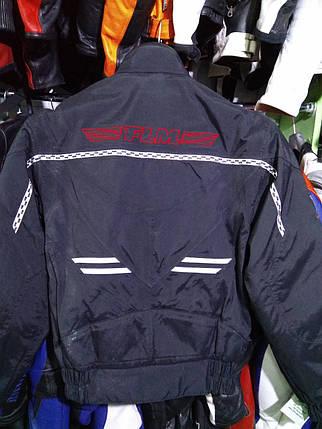 Мотокуртка бу текстиль  190, фото 2