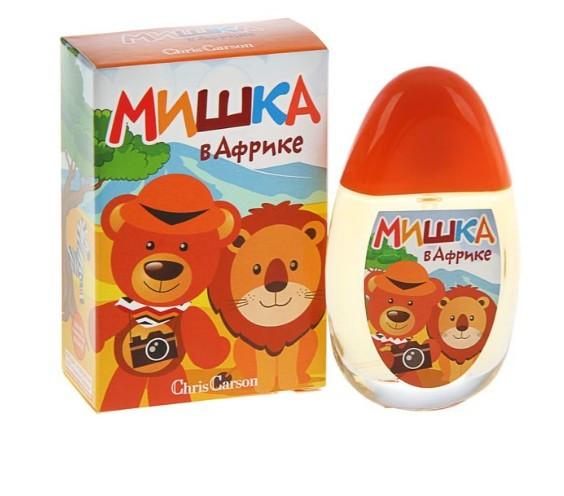 Детские духи, детская душистая вода МИШКА В АФРИКЕ 50 мл - Promparfum — парфюмерия, косметика, ногтевой сервис в Харькове
