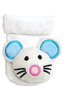 Махровые носки с игрушкой-погремушкой, 0-6 мес.
