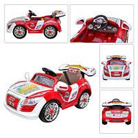Электромобиль детский Audi M 0561 красный