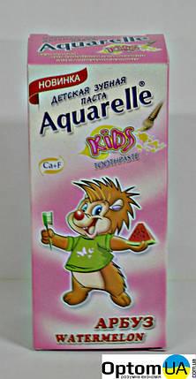 Дитяча зубна паста Aqr Kids Кавун 50мл , фото 2