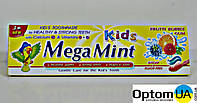 Mega Mint Kids дитяча зубна паста Frutti Bubble 50мл