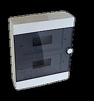 Бокс пластиковый  под автоматы на (24 модуля), накладной. Electro House!!!