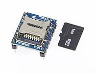 Модуль MP3 с micro SD слотом WTV020
