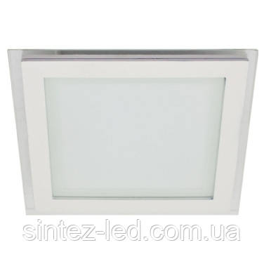 Светодиодный светильник LEMANSO LM435 6W 4500K квадрат, потолочный Код.57033
