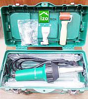Фен для пайки ПВХ мембран (комплект: ящик, дві насадки, валик)