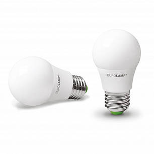 "EUROLAMP LED Лампа ЕКО серія ""D"" А50 7W E27 4000K, фото 2"