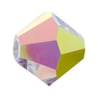 Хрустальные биконусы Preciosa (Чехия) 4 мм Crystal Vitrail Medium