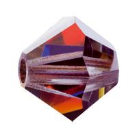 Хрустальные биконусы Preciosa (Чехия) 4 мм Crystal Volcano