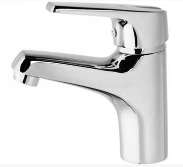 Смеситель кран однорычажный в ванную для умывальника