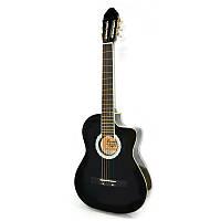 Гитара классическая c металлическими струнами Bandes CG 851С BK 39'