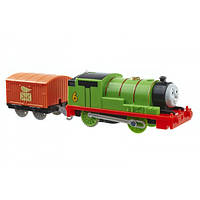 Fisher-Price моторизированный паровозик Перси Thomas The Train TrackMaster Motorized Percy Engine