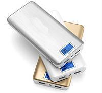 Xiaomi Power Bank 28800 mAh, внешний аккумулятор, дисплей, USB-кабель, 2 выхода USB. Портативная зарядка