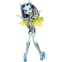 Кукла Френки Штейн Волтейджес Monster High Супер героини Power Ghouls