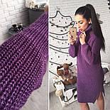Женское стильное вязанное платье-туника (5 цветов), фото 5