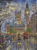 "Картина по номерам ""Лондон. Вестминстерский дворец"" 40*50"