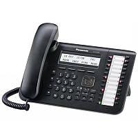 Системный телефон Panasonic KX-DT543RU Black (цифровой) для АТС Panasonic