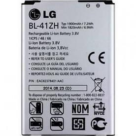 Аккумулятор BL-41ZH на LG D295 L Fino Dual, LG D213N L50, ОРИГИНАЛ