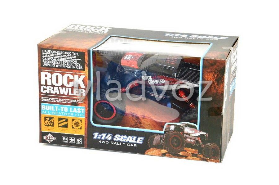 Коробка Rock Crawler краснрый на радиоуправлении