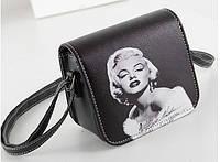 Женская сумка через плечо с принтом (Мэрилин Монро)
