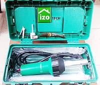 Фен для пайки ПВХ мембран (комплект: ящик, дві насадки, ніж)